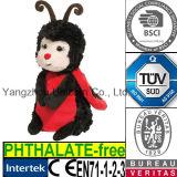 EN71 아기 선물 연약한 박제 동물 무당벌레 견면 벨벳 장난감
