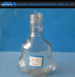 Fan-Shape Liquor Container Glass Wine Container para Whisky, Vodka