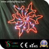 Luz do floco de neve do diodo emissor de luz da decoração do Natal da manufatura de China