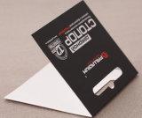 Carte d'en-tête de papier d'imprimerie pour l'emballage d'ampoule
