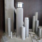 Engranzamento de fio do aço inoxidável para o elemento de filtro