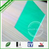 La Cina ha personalizzato lo strato solido di plastica della scheda del policarbonato del materiale da costruzione