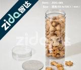 Il coperchio dei pp per il vaso di plastica 500ml svuota il vaso ambrato glassato animale domestico crema del vaso 500g