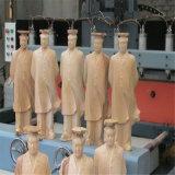 Router do CNC da linha central do CNC 4 que anuncia a máquina com o tanque giratório e de água