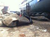 Sac à air de lancement de premier bateau en caoutchouc marin de vente de Jinzheng