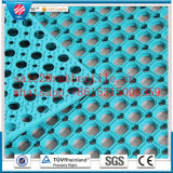 Antibacterial Anti-Slip Drainage Rubber Kitchen Pavimento Mats / Oil Resistance Rubber Floor