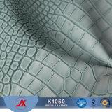 袋のための中国/Crocodileの皮PVC革価格の革製革所