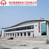 Edificio del ahorro de costes de construcción del marco de acero para la venta
