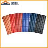Листы толя синтетической смолаы цвета Coated UPVC сертификата ISO Corrugated пластичные