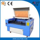 Gravura do laser da madeira compensada da venda de Acut 1390 e máquina de estaca quentes