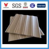 Material decorativo interior del panel laminado de madera y del panel de pared (HP-012) del PVC