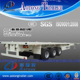 Tri-Axle 40 ' Container Transport Semi Trailer für Sale