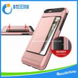 iPhone 6g、6pのための高品質のカードスロットの携帯電話の箱