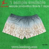 100% Polyester Man Sublimation Beach Shorts de natation