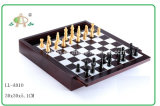MDF Wooden Chess Set с Wooden Pegs