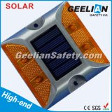 75mm LED 도로 햇빛 통제를 가진 태양 장식 못 빛