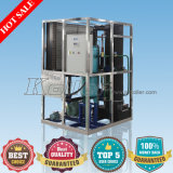 3000kgs Long Storage Hollow Cylinder Ice Maker per Drinks (TV30)