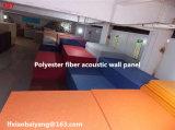 Panneau de plafond révélateur de panneau de panneau de fibre de polyester d'écran antibruit de panneau de mur