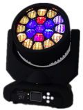Selling caliente 19LEDs*12W RGBW LED Moving Head Stage Light