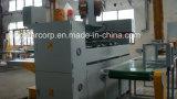 Máquina de costura de la caja acanalada Semi-Auto serva doble