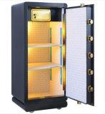 Caja fuerte de la huella digital Z100 para el uso de la oficina de la batería