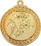 테이블 Tennis Game Gold Color 5cm Diameter Medal