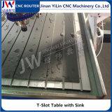 Ranurador de piedra del CNC del metal del MDF del aluminio de acrílico de madera 1325