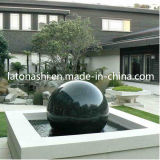Landscapingのための自然なStone Rotating Sphere Ball Water Fountain