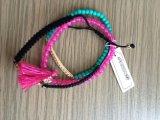 Set Acryl bördelt Armband/Armband mit Gewebe-Form-Schmucksachen