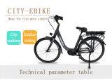 Ciudad Electric / 700c Bicicleta Eléctrica Kit / 36V 250W MID Drive Motor Bicicleta eléctrica para la señora