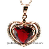 よいQualityおよびFashion Silver Pendant Jewelry、Love Heart Pendant P4991