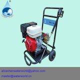 Máquina de la limpieza del agua de alta presión diesel de Seweage que echa en chorro