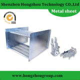 Galvanized Box Sheet Metal Fabrication с CNC