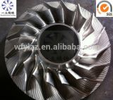 Deel CNC die van de Turbocompressor van de auto het Wiel van de Compressor machinaal bewerkt