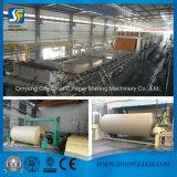 5-6 tonnes 1092mm Papier d'emballage/métier faisant fait à la machine de papier des machines de papier de Shunfu