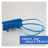 Varia etiqueta modificada para requisitos particulares del plástico del uso de una sola vez/de la atadura de cables del nilón/del metal Hf/UHF NFC RFID