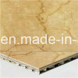 Супер тонкая мраморный каменная панель сота для ненесущей стены