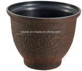 旧式な葉パターン植木鉢(KD9472SN-KD9474SN)