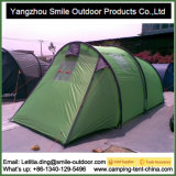 Tenda di quattro stagioni di campeggio esterna di alluminio della famiglia del Palo dei portelli doppi