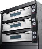 Der neue Art-Gas-Ofen mit schwarzer TitangoldEdelstahl-Serie 2017 für Geschäft (WFC-309DHT)