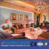 Placas de painel decorativas decorativas da parede interior de painel de parede 3D da onda