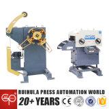 Hidráulico laminar la máquina de formación de acero 3 en 1 alimentador servo del Nc (MAC2-500)