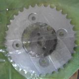 Jogos da corrente e da roda dentada da movimentação da motocicleta da caixa de embalagem da cor do OEM CD70