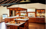De Bck América de país de estilo da madeira contínua da HOME do projeto gabinetes 2017 de cozinha