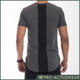 Protetor longo do prurido da luva do Short feito sob encomenda do Sublimation das camisas da compressão