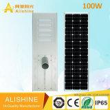 100W Solar LED Street Garden Light com design Utra-Bright