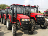 Chinese 50HP Farm Tractor 4WD of 2WD met Canopy of Cabin