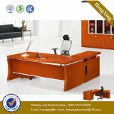 Роскошная конструкция l стол управленческого офиса формы (NS-NW070)