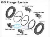 Flange di vuoto - flange di iso: Lo spazio in bianco/ha alesato lo spazio in bianco/flangia serrata/l'anello del bullone/a metà ugello rotativo/l'anello di fermo/protezione spaccati