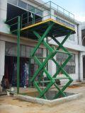 De stationaire Hydraulische Lijst van de Lift (Dubbele Vorken SJG) (SJG)